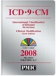 ICD-9-CM 2008 Office Edition, Volume 1 & 2